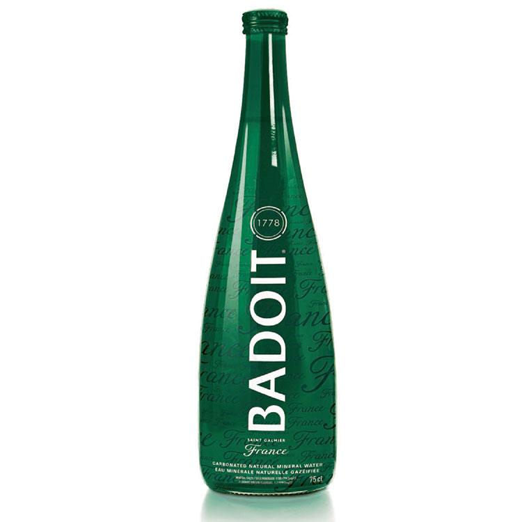 badoit green water pattayawine